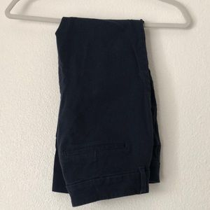Old navy pixie navy pants